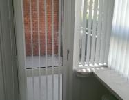 Lamelgardin i terrassedør