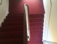 Ritz monteret i trappeopgang