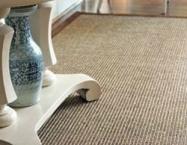 Sisal Mix som afpasset tæppe i stue